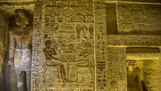 Hallan más de una treintena de tumbas del Egipto Antiguo