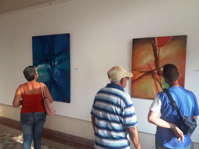 Arte abstracto lleno de amor y esperanza