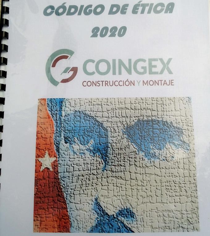 Firman Código de Ética cuadros de dirección de la empresa de construcción y montaje de Granma