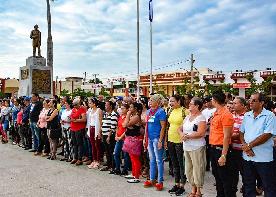 Rememoran aniversario de la caída en combate del Padre de la Patria