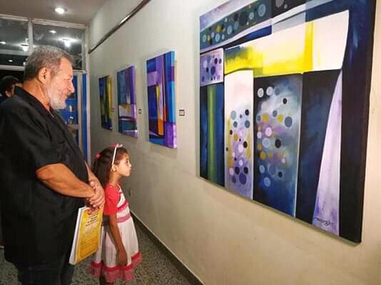 Inauguran en Niquero exposición Epigramas del artista Manuel Olivera Álvarez