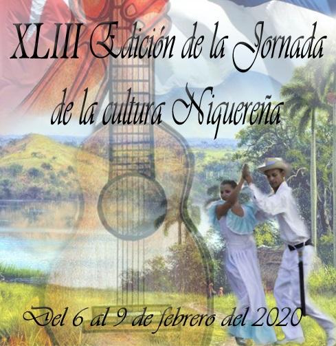 Del 6 al 9 de febrero 43 edición de la Jornada de la cultura niquereña
