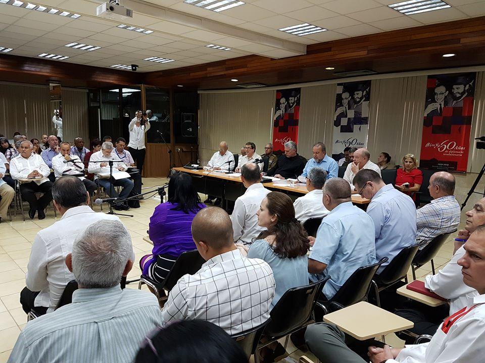 Preside Díaz- Canel balance de la política exterior cubana