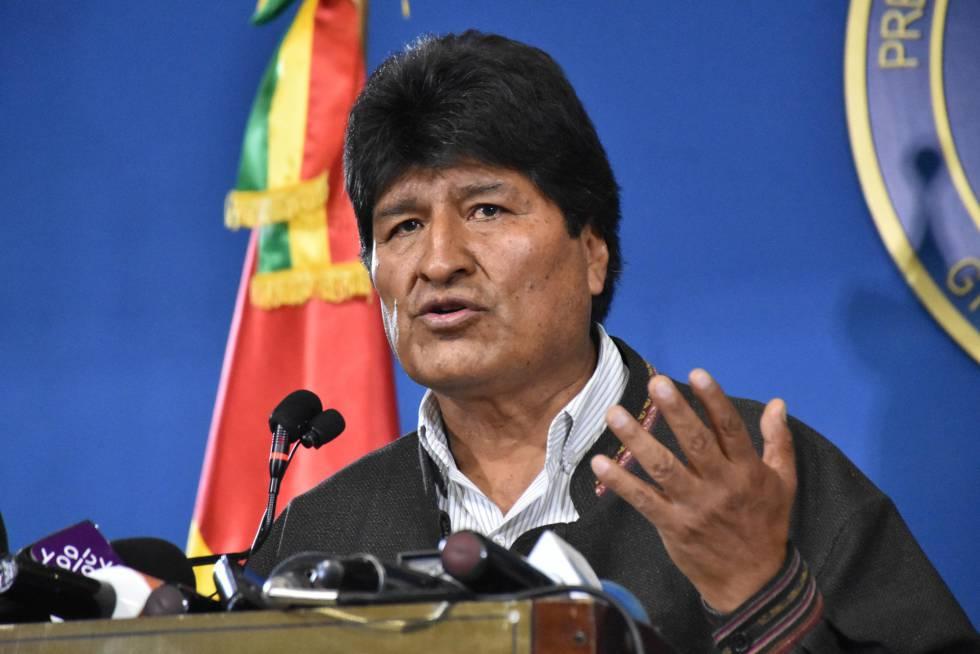 Evo Morales denuncia más artimañas tras inhabilitación de candidatura