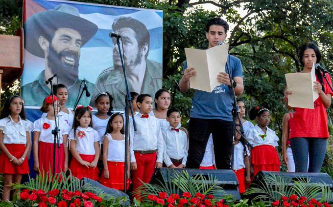 Jóvenes granmenses celebrarán el natalicio de Camilo Cienfuegos