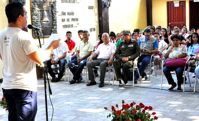 Los jóvenes martianos celebran su aniversario