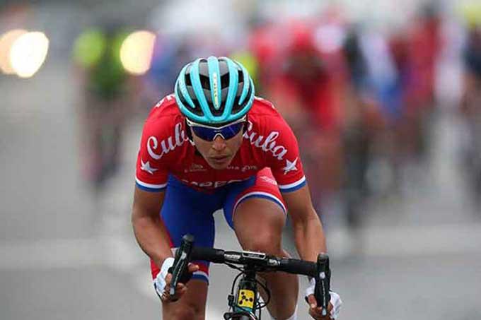 Arlenis sigue séptima en Semana ciclística valenciana