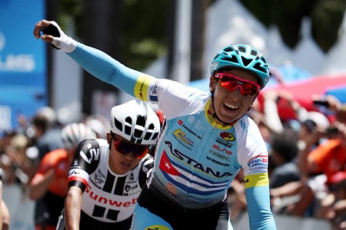 Arlenis marcha séptima en semana ciclística valenciana