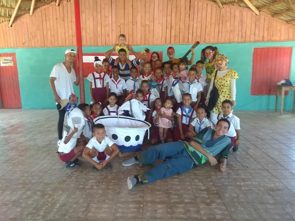 Estudiantes de Teatro participan en Cruzada Teatral (+ fotos)