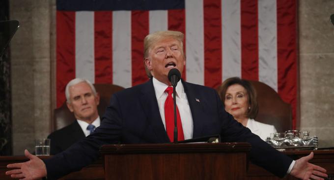 Discurso de Trump en el Congreso, entre críticas y falsedades