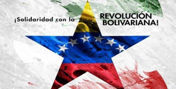 Realizan Jornada Internacional de Solidaridad con Venezuela