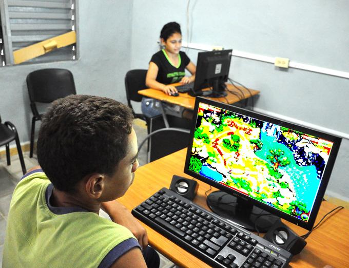 Ejecutan acciones constructivas en Joven Club de Computación y Electrónica