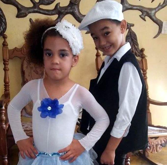 Dúo artístico infantil participará en concurso nacional de circo