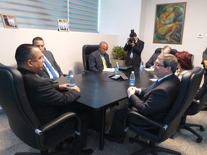 Sostendrá Bruno Rodríguez conversaciones con su homólogo panameño (+fotos)