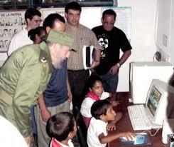 Fidel en Granma, hace 18 años