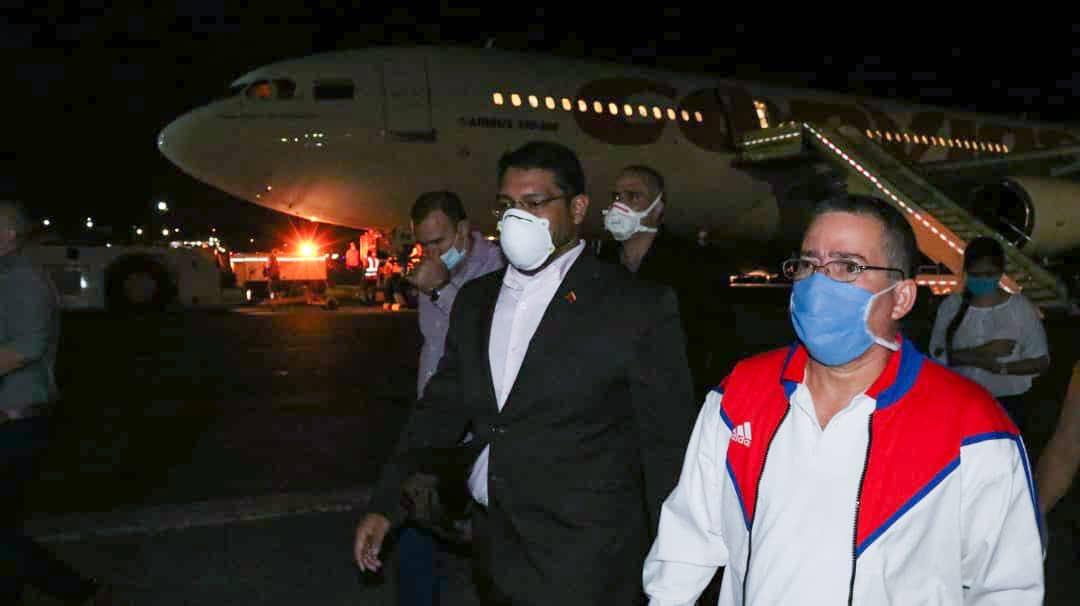 Brigada cubana llega a Venezuela para luchar contra la Covid-19
