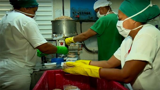 Industria cárnica y pesquera desarrollarán nuevas producciones(+fotos, audio y video)