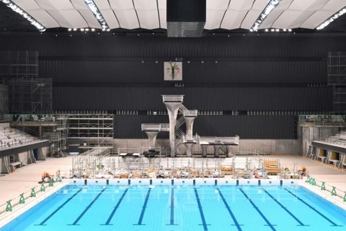 Terminan la construcción de Centro Acuático para Juegos Olímpicos