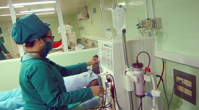 Garantiza Ciego de Ávila servicios de hemodiálisis a pesar del bloqueo
