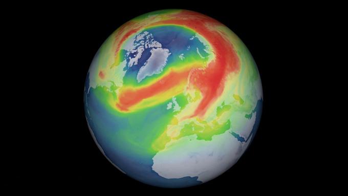 Se cierra el agujero de ozono más grande observado en el Ártico (+video)