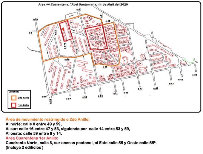 Decretan cuarentena en zonas de dos consejos populares de Nueva Gerona