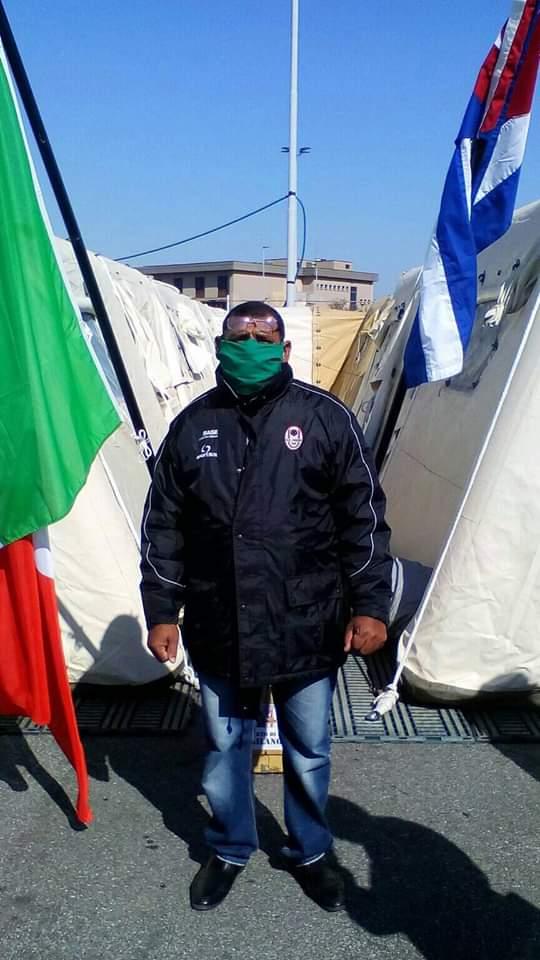 Cuídense, mensaje desde Italia