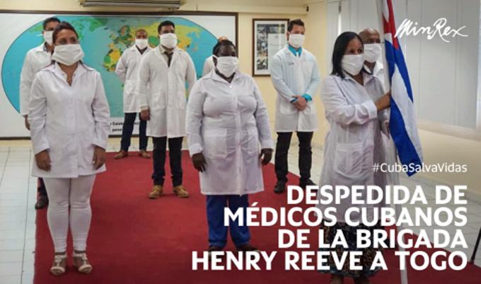 Llegó a Togo brigada médica cubana que combatirá la COVID-19