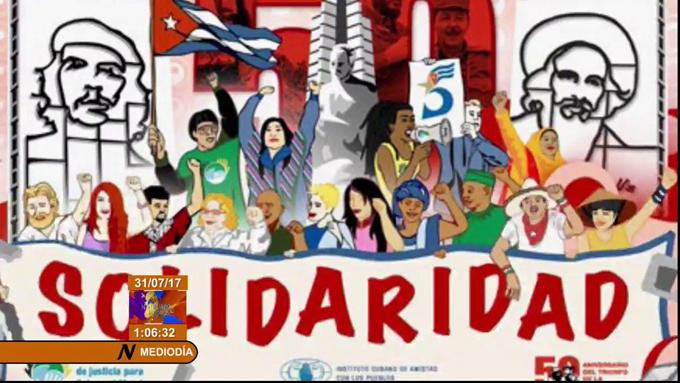 Trabajadores del mundo ratifican solidaridad con Cuba en foro virtual
