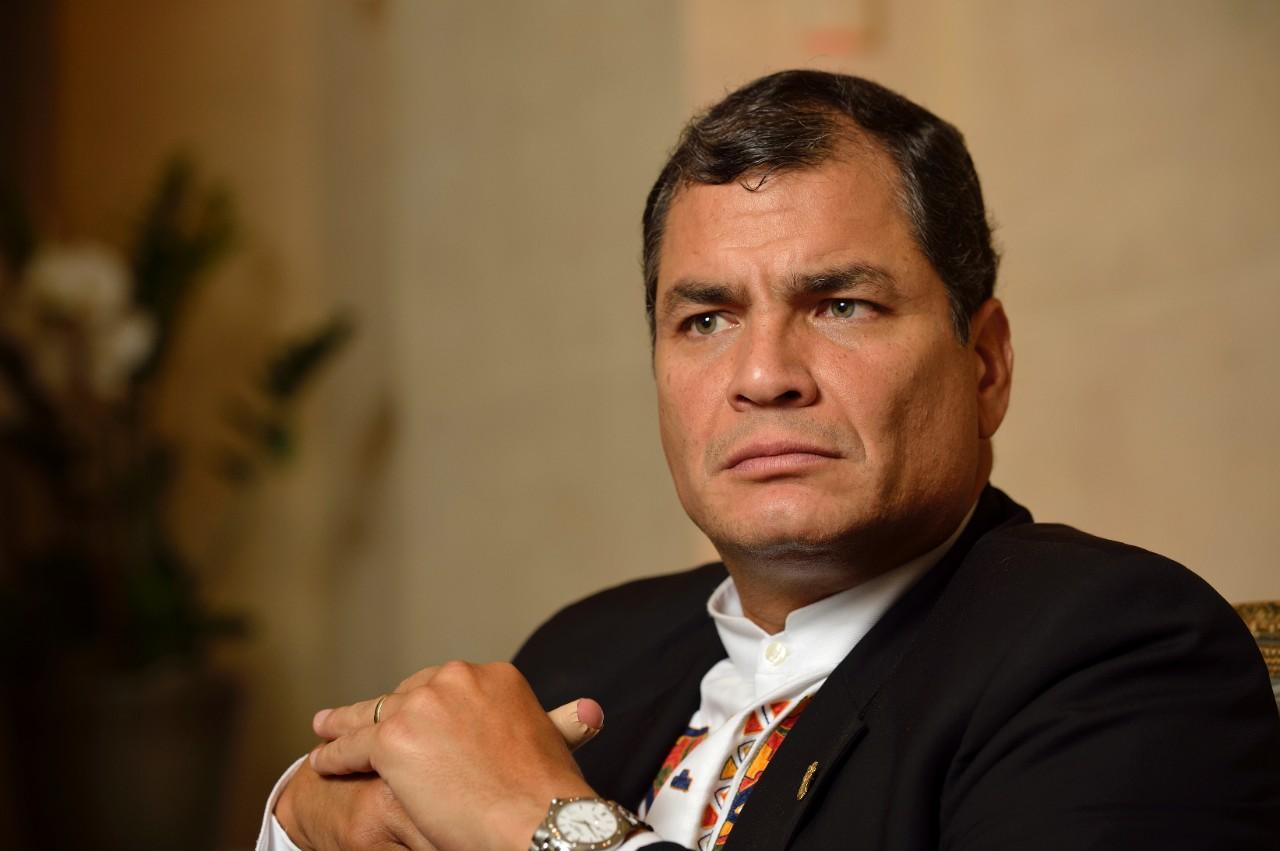 Reitera Cuba apoyo al expresidente ecuatoriano Rafael Correa, inhabilitado políticamente hoy