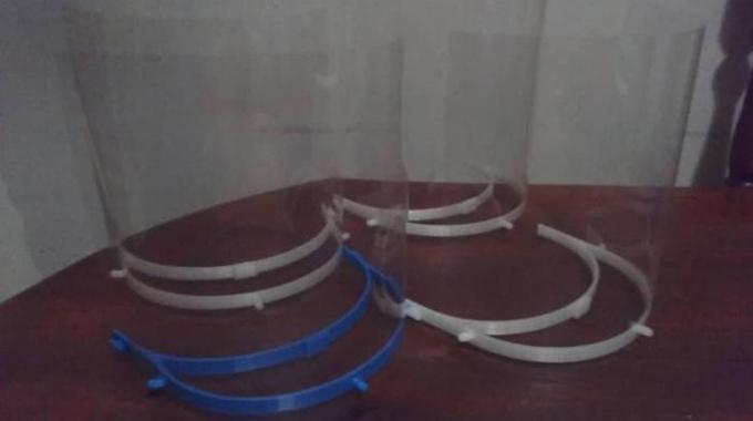 Imprimen en 3D medios de protección contra la COVID-19 en Cuba (+Fotos)