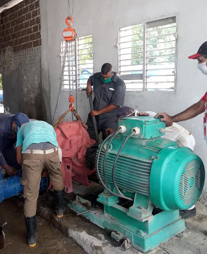 Realizan acciones en Bayamo y Jiguaní para mejorar abasto de agua a la población