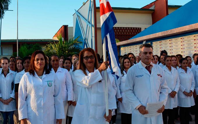 Brigadistas de Cuba listos para ayudar a Jamaica ante Covid-19
