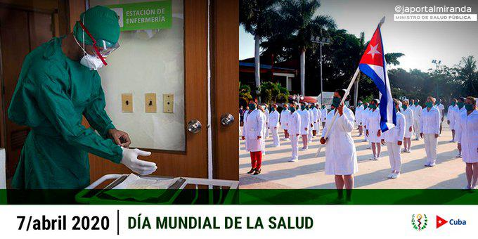 Envía titular del Minsap mensaje a los trabajadores por el Día Mundial de la Salud