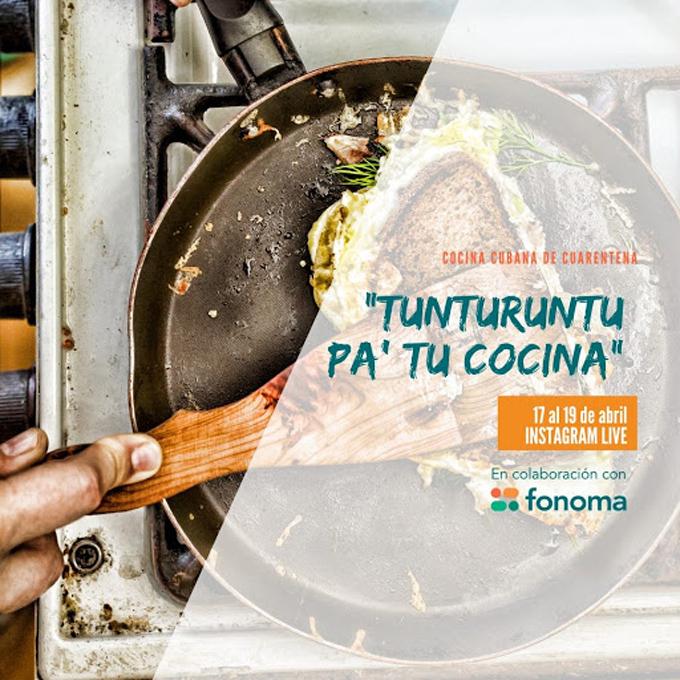 Tunturuntu pa´tu casa se cuela en la cocina