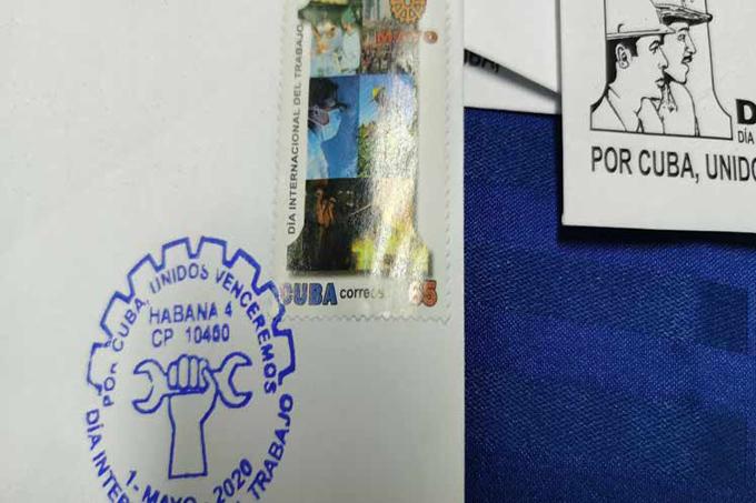 Cancelan en Cuba sello postal dedicado al Primero de Mayo (+fotos)