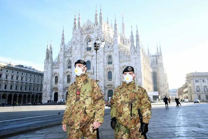 Supera Italia las 23 mil víctimas fatales con Covid-19