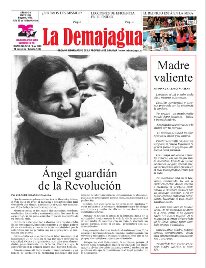 Edición impresa 1490 del semanario La Demajagua, sábado 9 de mayo de 2020