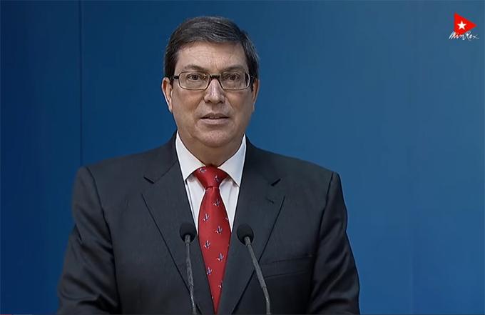 #ÚltimoMinuto: Ministro de Relaciones Exteriores de Cuba denuncia silencio cómplice sobre atentado a embajada cubana (+ video)