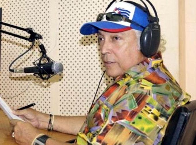 "Distinguen a ""Pepe"" Rodríguez como Artista de Mérito de la Radio cubana"