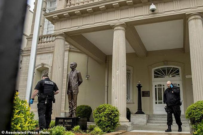 Cuba mantiene reclamo de respuestas por ataque a embajada en EE.UU. (+ video)