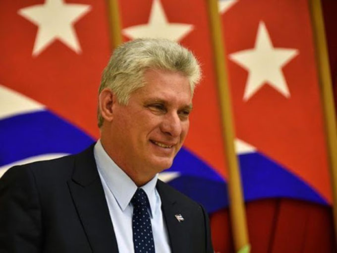 Presidente de Cuba insta a un mundo de fraternidad y justicia