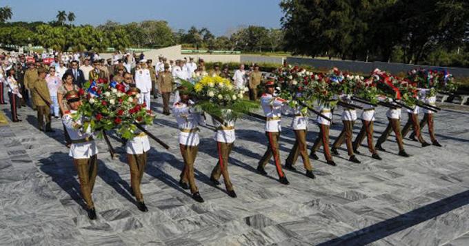 Cuba celebró el aniversario 75 de la Victoria sobre el fascismo (+video)