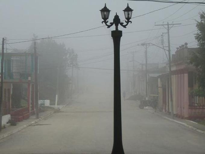 Densa niebla del polvo del Sahara invade centro de Cuba