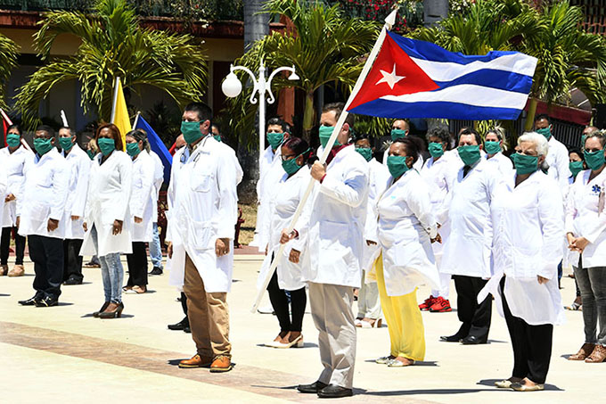 Desde Argentina suman más firmas para Nobel a médicos cubanos
