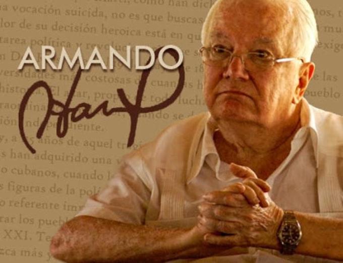 Conmemorarán en Cuba aniversario 90 del natalicio de Armando Hart (+video)