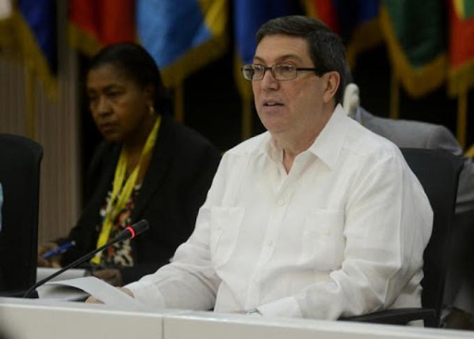 Bruno Rodríguez en la AEC: Cuba proseguirá trabajando en favor de la unidad del Caribe (+video)