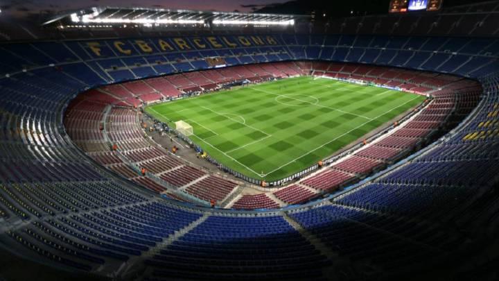 "La Generalitat: ""El Barça-Nápoles se puede jugar en el Camp Nou"""