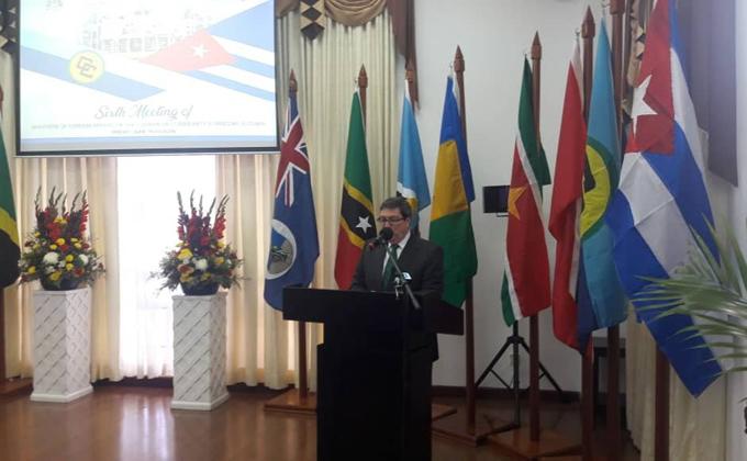 Declaración de Bruno Rodriguez Parrilla, Ministro de Relaciones Exteriores de la República de Cuba, en la Sexta reunión de Ministros de Relaciones Exteriores de Caricom – Cuba. Georgetown, Guyana, 14 de junio de 2019