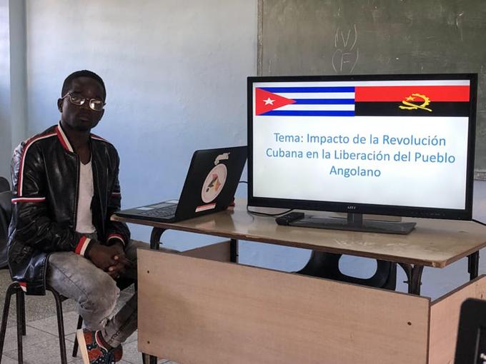 Jeovane, otro angoleño agradecido con Cuba