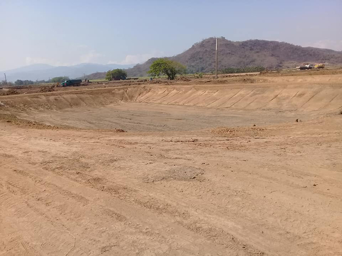 Avanzan labores constructivas en estación de alevinaje Acuipaso